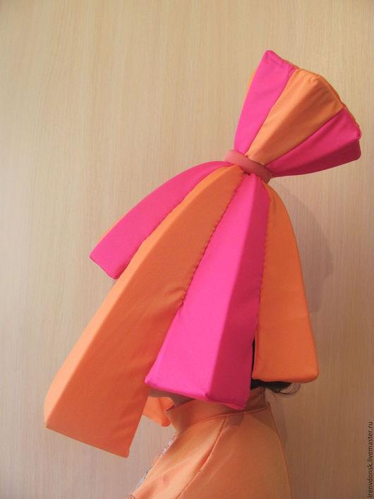 """Карнавальные костюмы ручной работы. Ярмарка Мастеров - ручная работа. Купить Парик Симки """"Фиксики"""". Handmade. Оранжевый, поролон"""