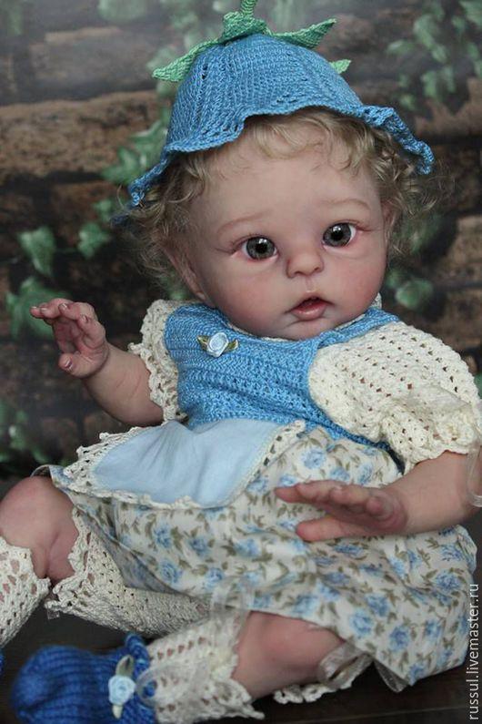 Одежда для кукол ручной работы. Ярмарка Мастеров - ручная работа. Купить Наряд Эльф. Handmade. Комбинированный, крючок, ткань с рисунком