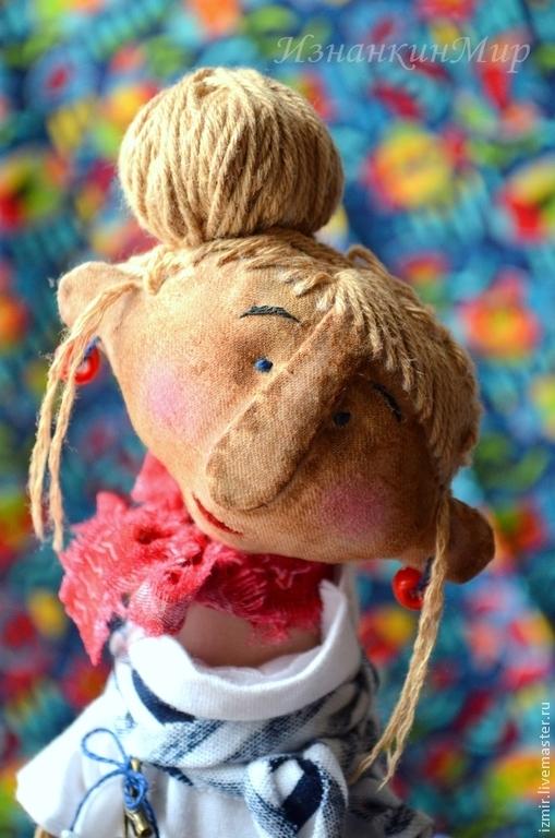 Изнанкин Мир Игрушки Кукла Чердачная Примитив Примитивная Игрушка Кукла с чердака Ароматизированная игрушка Ароматизированная кукла Кофейные игрушки Тонированные кофе игрушки Прибрежный Бриз Вода