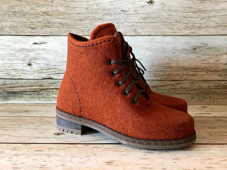 acacf4608 Обувь ручной работы. Ярмарка Мастеров - ручная работа. Купить Ботинки  валяные. Handmade.