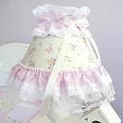 Для дома и интерьера handmade. Livemaster - original item Lamp, lace,pink,baby style Shabby Chic. Handmade.