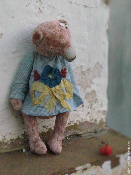 Мишки Тедди ручной работы. Ярмарка Мастеров - ручная работа. Купить Розовая Мурашка. Handmade. Мишка ручной работы, плюш