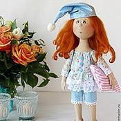Куклы и игрушки ручной работы. Ярмарка Мастеров - ручная работа Тася. Текстильная авторская кукла.. Handmade.