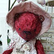 Куклы и игрушки ручной работы. Ярмарка Мастеров - ручная работа Мишка-тедди Стефани. Handmade.