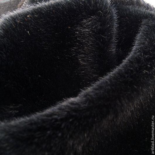 Куклы и игрушки ручной работы. Ярмарка Мастеров - ручная работа. Купить Мохер плюш прямой чёрный 13 мм (Германия Schulte, черный). Handmade.