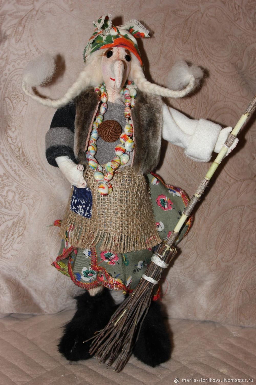 Баба Яга, Народная кукла, Рязань,  Фото №1