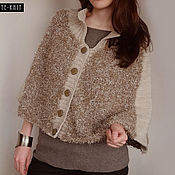 Одежда handmade. Livemaster - original item Knitted ponchos for women