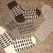 Носки ручной работы. Ярмарка Мастеров - ручная работа Носки из натуральной шерсти. Handmade.