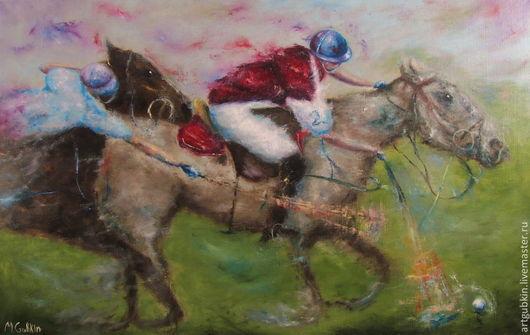 """Животные ручной работы. Ярмарка Мастеров - ручная работа. Купить """"Поло I"""" (вар. 2). Handmade. Лошади, поло"""