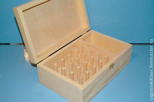 Другие виды рукоделия ручной работы. Ярмарка Мастеров - ручная работа. Купить Шкатулка для ниток№3(25х15,5х8,5см). Handmade. Бежевый