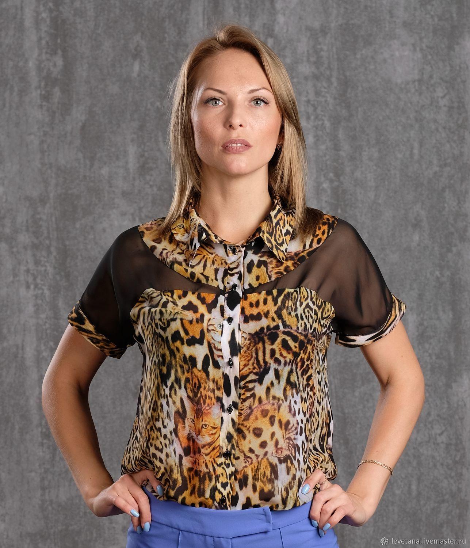 Блуза 334-2 44, 46 размер, Блузки, Екатеринбург,  Фото №1