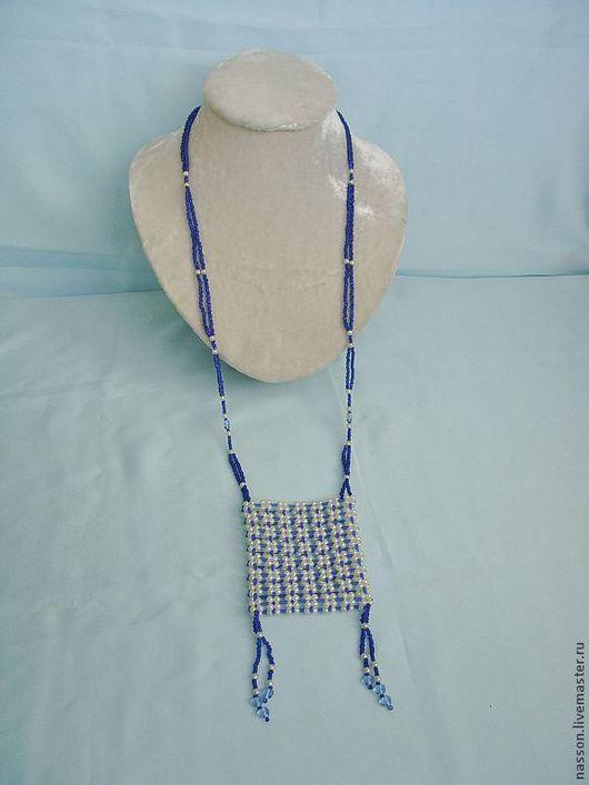 Кулоны, подвески ручной работы. Ярмарка Мастеров - ручная работа. Купить Кулон - сумочка. Handmade. Синий, украшение на шею