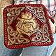 Men's leather wallet 'bear King'. Wallets. schwanzchen. My Livemaster. Фото №4