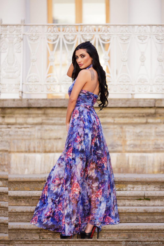 15e4509bd369 Платья ручной работы. Шифоновое платье. Власюк Ольга (celestelux). Интернет- магазин
