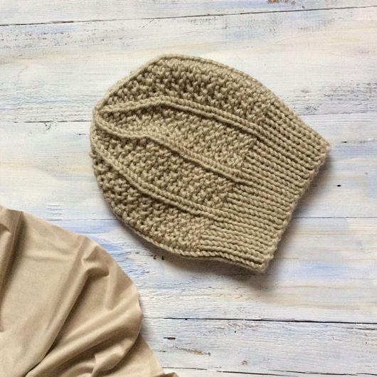 шапка вязаная, шапочка зимняя