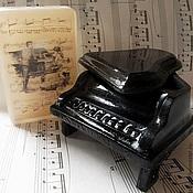 """Мыльный набор Рояль и """"музыкльная"""" открытка"""