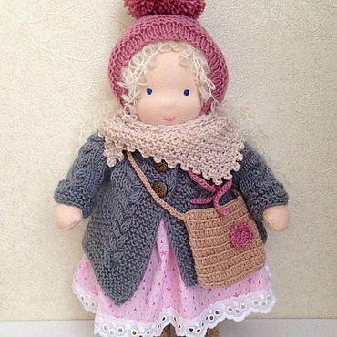 Куклы и игрушки ручной работы. Ярмарка Мастеров - ручная работа Лизабетта, вальдорфская кукла,36 см. Handmade.
