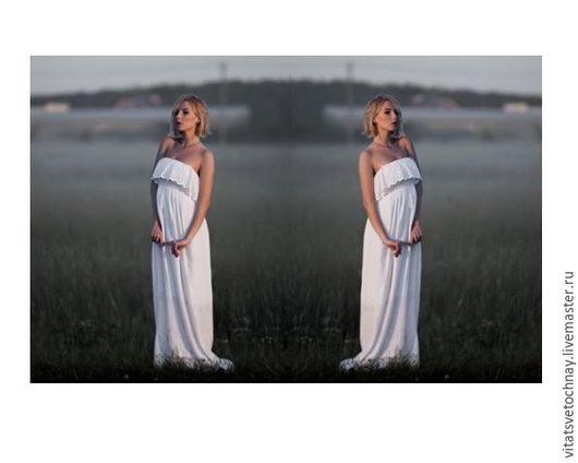 """Платья ручной работы. Ярмарка Мастеров - ручная работа. Купить Сарафан """"Гречанка"""". Handmade. Сарафан в пол, платье для беременных"""