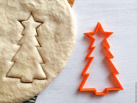 Кухня ручной работы. Ярмарка Мастеров - ручная работа. Купить Форма для печенья Ёлочка со звездой. Handmade. Разноцветный