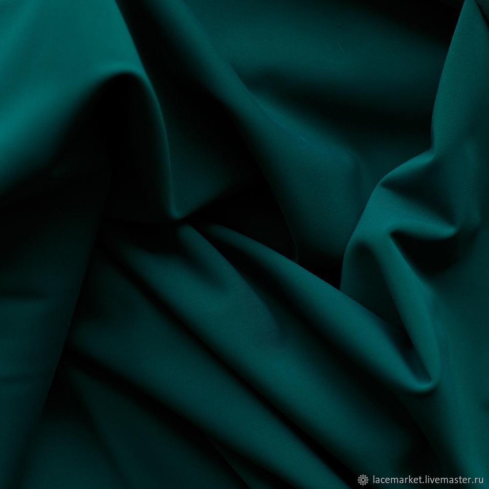 Зеленый матовый бифлекс, 0.5 м (040-001-224), Ткани, Москва,  Фото №1