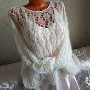 Одежда handmade. Livemaster - original item Mohair jumper oversize
