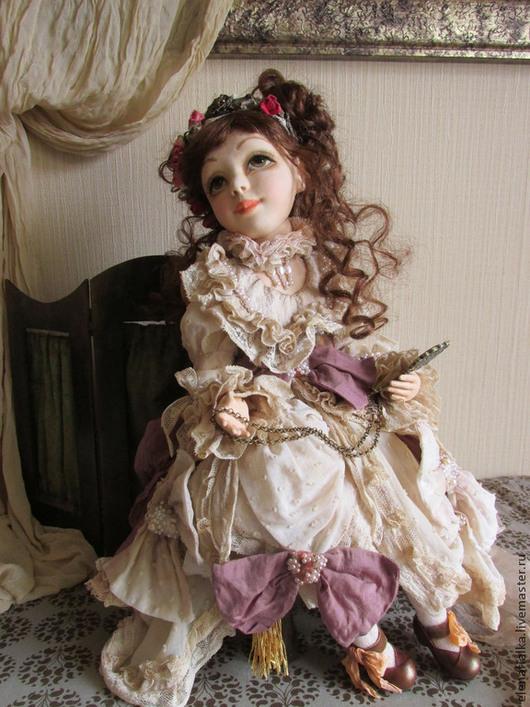"""Коллекционные куклы ручной работы. Ярмарка Мастеров - ручная работа. Купить """"Ах...! Я неисправимая кокетка!.."""". Handmade."""