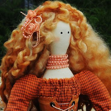 Куклы и игрушки ручной работы. Ярмарка Мастеров - ручная работа Кукла в стиле Тильда Шарлотта. Handmade.