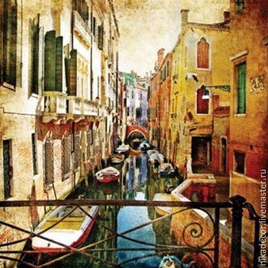 Декупаж и роспись ручной работы. Ярмарка Мастеров - ручная работа. Купить Венеция (SDL980000) 33х33 салфетка для декупажа. Handmade. Комбинированный