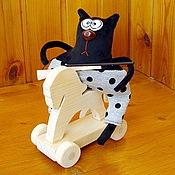 Куклы и игрушки ручной работы. Ярмарка Мастеров - ручная работа Интерьерные игрушки Коты-обормоты (новые образы). Handmade.
