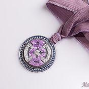 Украшения handmade. Livemaster - original item Embroidered pendant Celtica 11. Handmade.