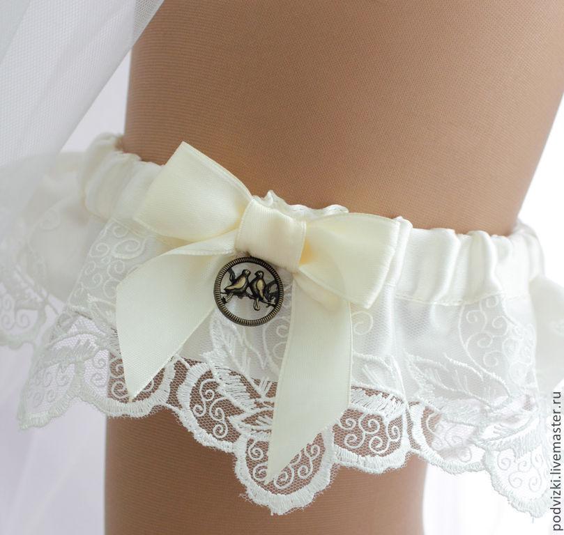 Подвязка невесты сшить 91