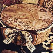 Для дома и интерьера ручной работы. Ярмарка Мастеров - ручная работа Старые письма, большая шкатулка, декупаж. Handmade.