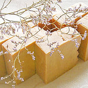 Косметика ручной работы handmade. Livemaster - original item MILK Castile soap with organic butter and Lavender extract. Handmade.