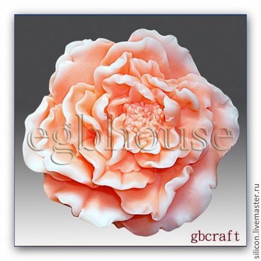 Материалы для косметики ручной работы. Ярмарка Мастеров - ручная работа. Купить роза. Handmade. Кремовый, форма для мыла, розы