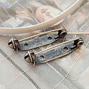 Материалы для творчества handmade. Livemaster - original item Pin brooch 28 mm Japan (Ref. 3218). Handmade.