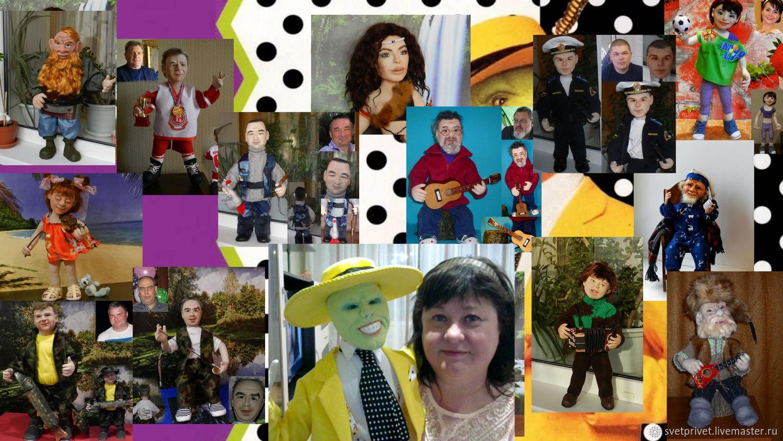 Акция! 8 видео мк по куклам из капрона и синтепона 1600р, Игрушки, Курган, Фото №1