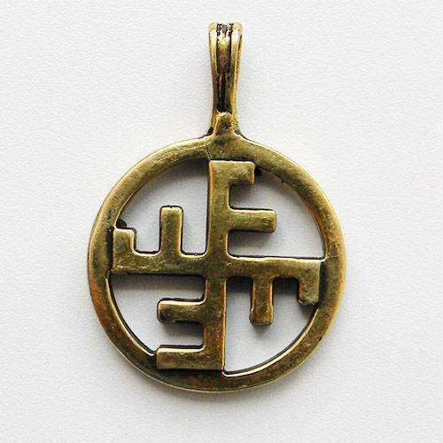"""Кулоны, подвески ручной работы. Ярмарка Мастеров - ручная работа. Купить Кулон """"Небесный Крест"""". Handmade. Оберег, символ, крест"""