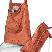 Сумки и аксессуары handmade. Livemaster - original item Bag and mitts