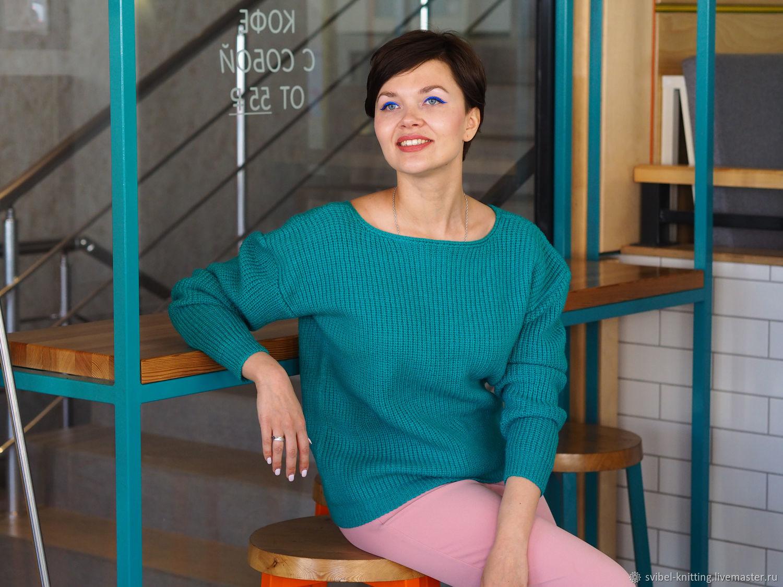 """ОПИСАНИЕ PDF пуловер свитер для города """"City Life"""", Схемы для вязания, Оренбург,  Фото №1"""