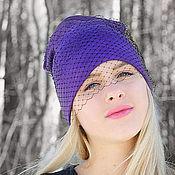 """Аксессуары ручной работы. Ярмарка Мастеров - ручная работа """"Фиолет""""(полушерть). Handmade."""