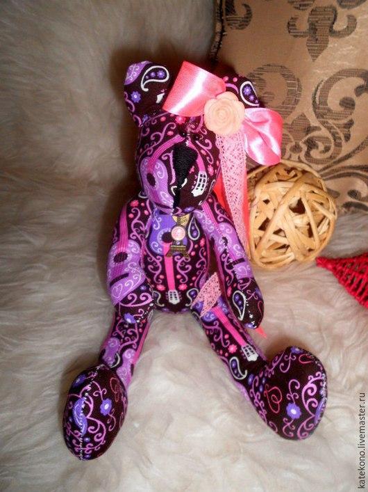 """Куклы Тильды ручной работы. Ярмарка Мастеров - ручная работа. Купить Мишка в стиле Тильда""""Мишенька"""". Handmade. Разноцветный, тильда"""
