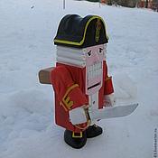 Куклы и игрушки ручной работы. Ярмарка Мастеров - ручная работа Щелкунчик  - сувенир из дерева. Handmade.