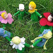 Куклы и игрушки ручной работы. Ярмарка Мастеров - ручная работа Вальдорфские куколки Матушка Земля и ее детки. Handmade.