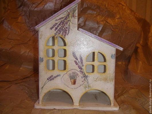 """Кухня ручной работы. Ярмарка Мастеров - ручная работа. Купить Чайный домик """"Лаванда"""". Handmade. Сиреневый, лаванда, подарок на новый год"""