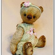 Куклы и игрушки ручной работы. Ярмарка Мастеров - ручная работа Мишка Бетти. Handmade.