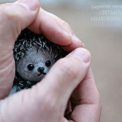 Куклы и игрушки handmade. Livemaster - original item Teddy Hedgehogs from the toys