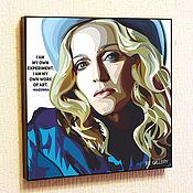 Картины и панно handmade. Livemaster - original item Painting Pop Art Madonna. Handmade.