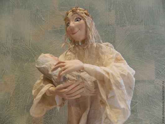 Коллекционные куклы ручной работы. Ярмарка Мастеров - ручная работа. Купить Ангел. Handmade. Белый, подарок