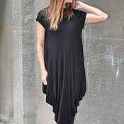handmade. Livemaster - original item Long dress, cotton with lycra - DR0288TR. Handmade.