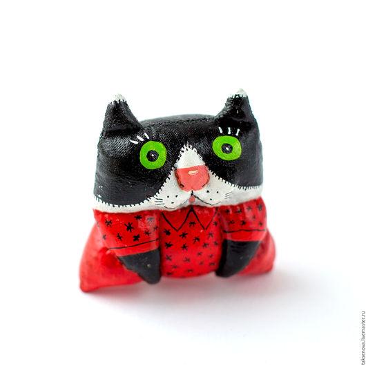 Игрушки животные, ручной работы. Ярмарка Мастеров - ручная работа. Купить Текстильная грунтованная игрушка кошка Софа. Handmade.